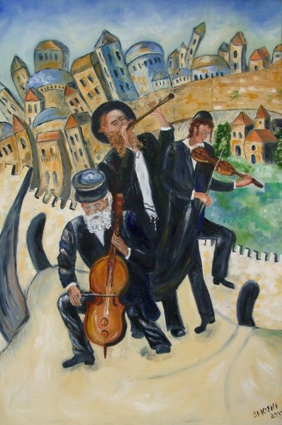 Jerusalem dances by shoshi Kraus